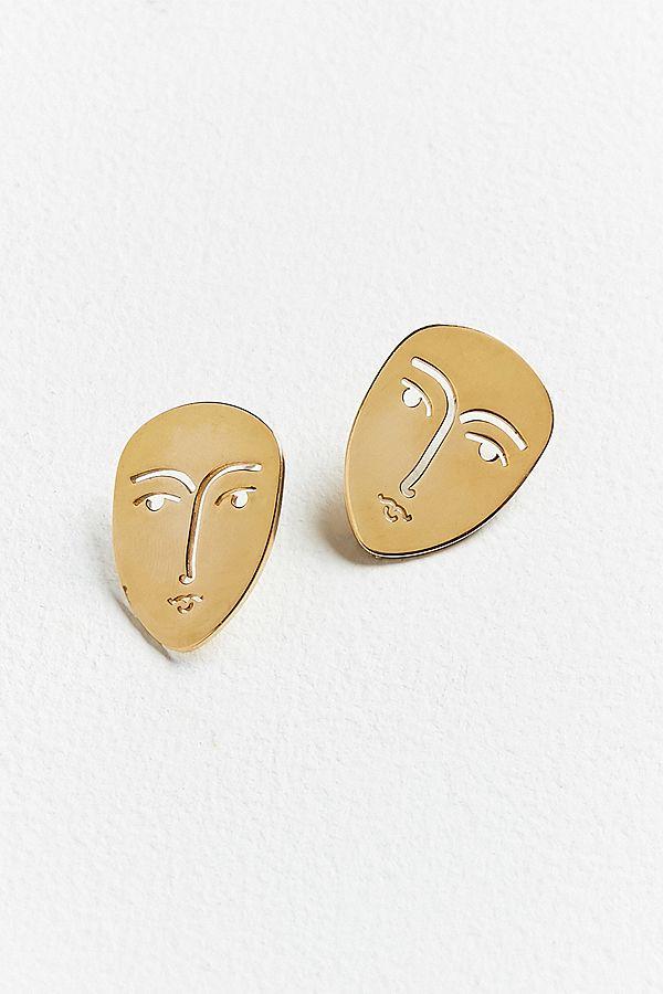 KOPI Face Post Earring $39.00