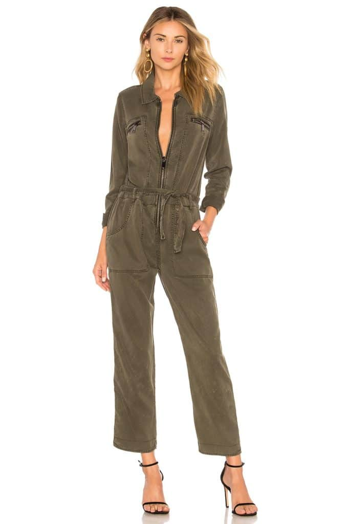LONG SLEEVE JUMPSUIT HUDSON JEANS $325