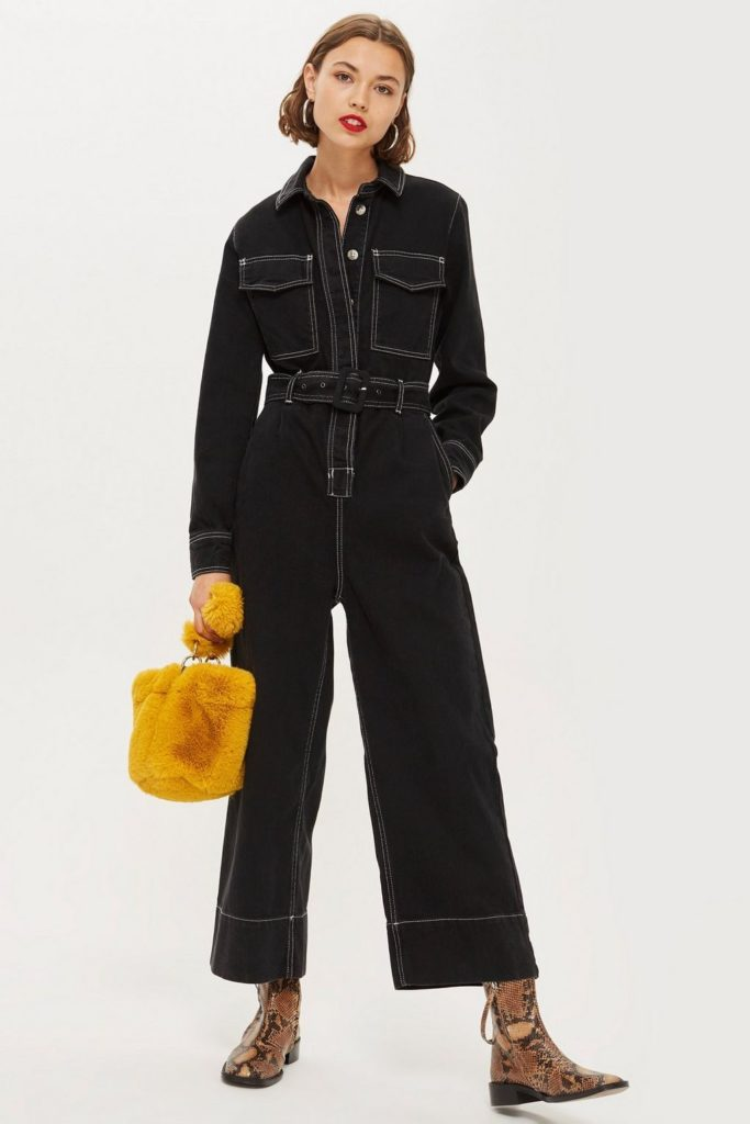 Contrast Denim BoilersuitTOPSHOP $125.00