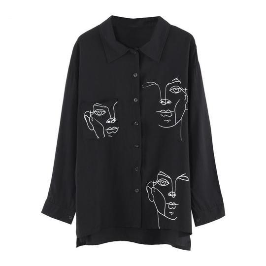 'Abstract Sketch' Shirt $34.00