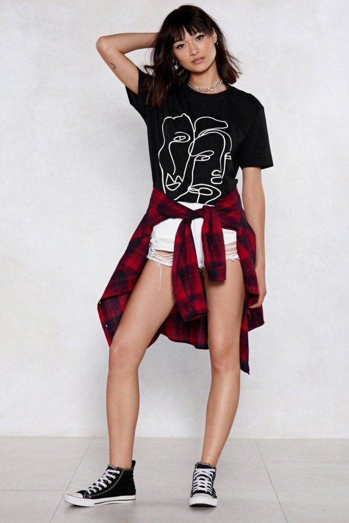 Two Faced Tee $15.00