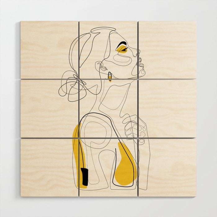 Color Beauty Wood Wall Art $149.99