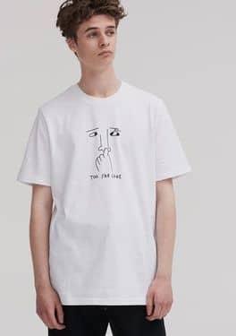 Lazy Oaf Too Far Gone T-shirt $39.67