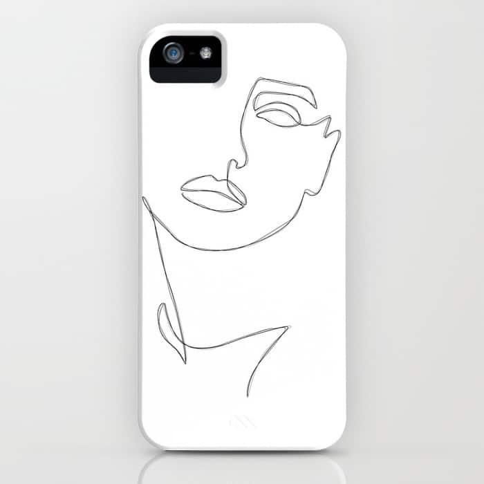 Triple Face Line iPhone Case $35.99