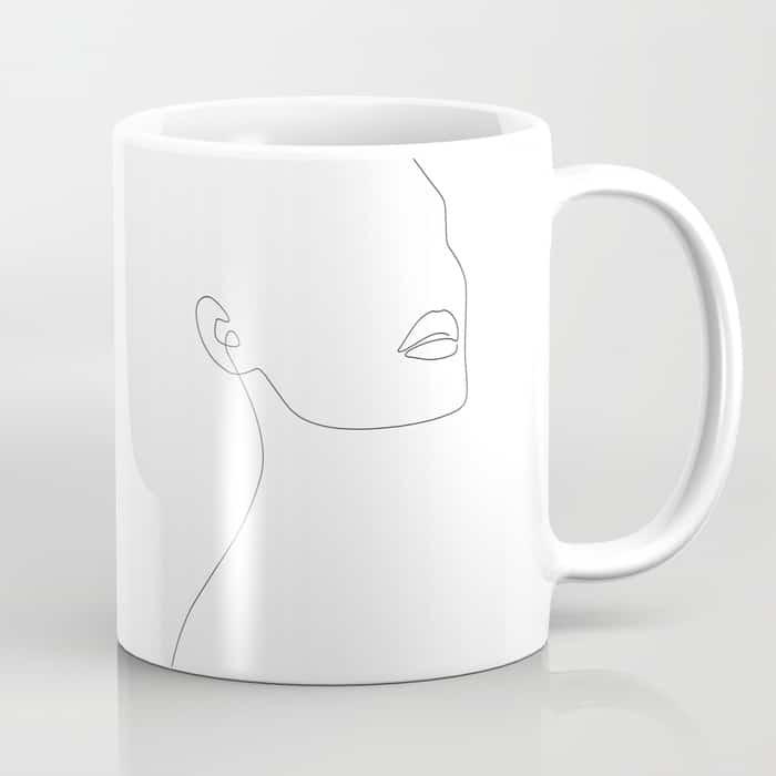 Simple Minimalist Coffee Mug $15.99