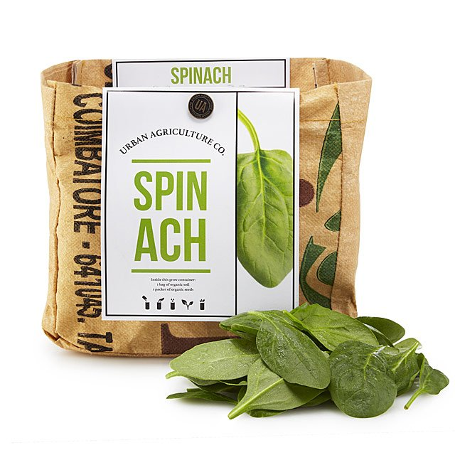 Spinach Grow Kit $20.00