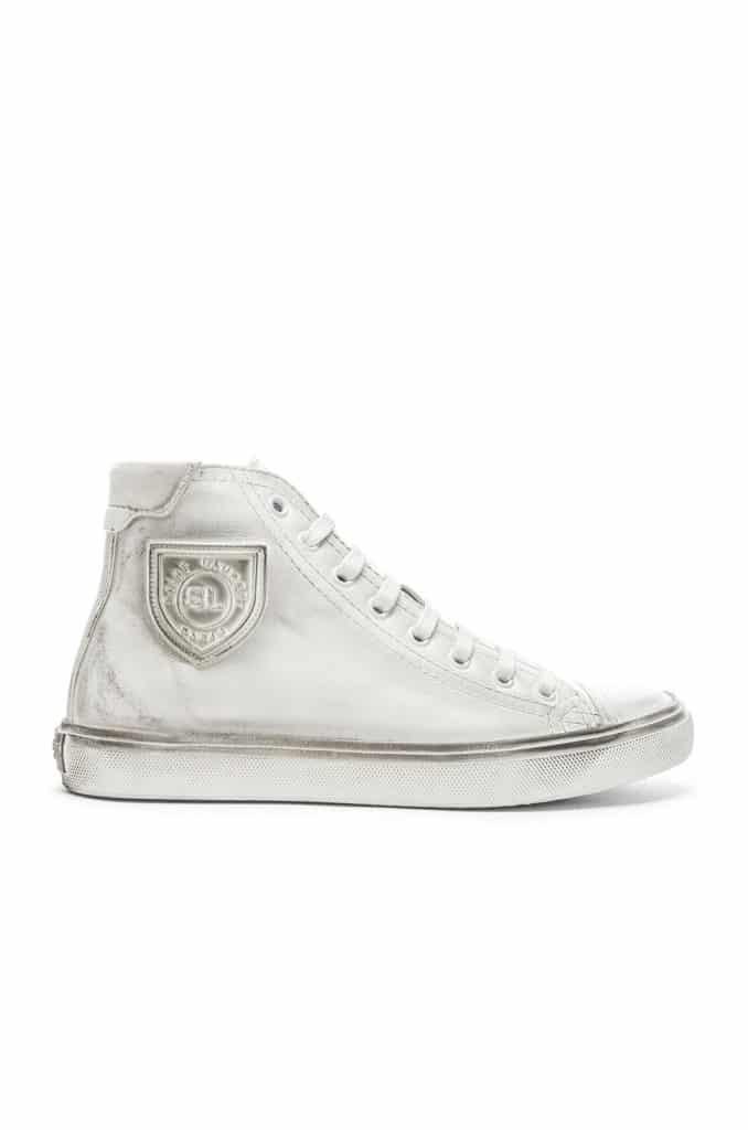 SAINT LAURENT High Top Bedford Sneakers $695