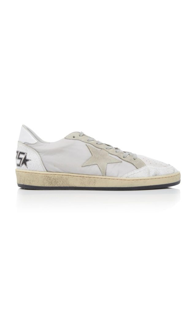 Golden Goose Ball Star Leather Sneakers $425
