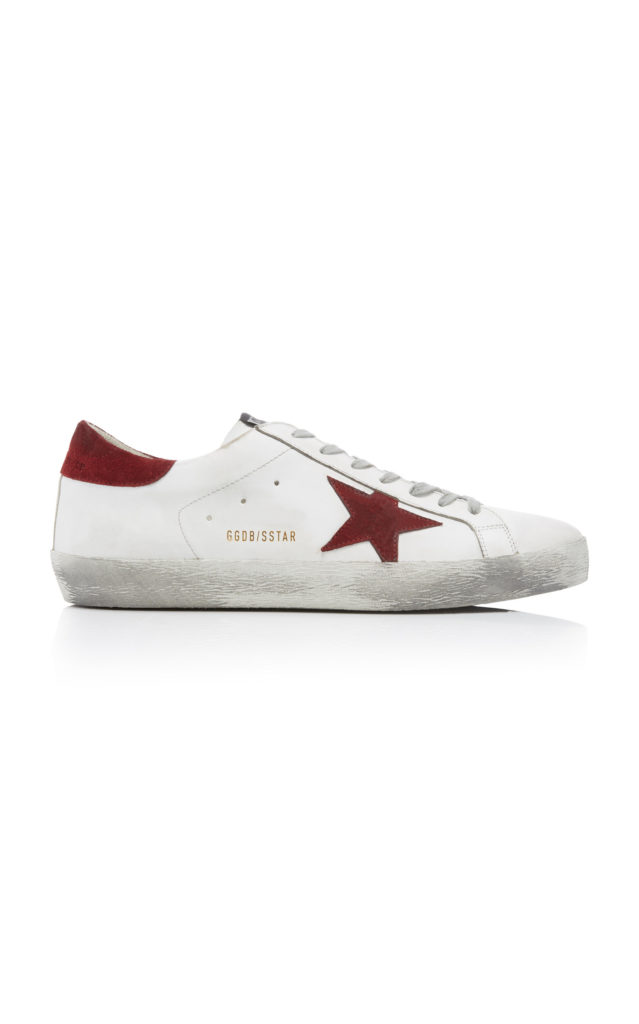 Golden Goose Super Star Leather Sneakers $495