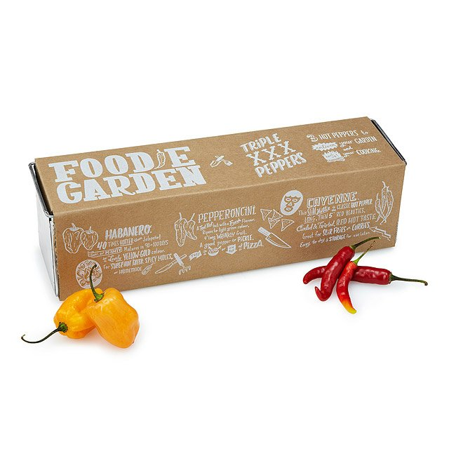 Triple Peppers Grow Kit $19.95