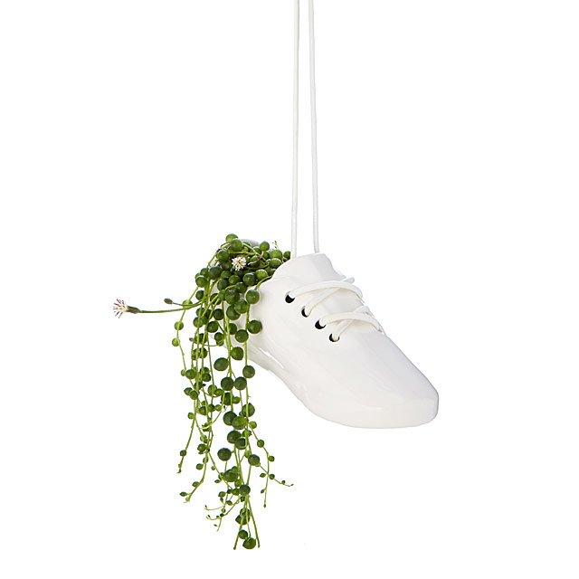 Sneaker Hanging Planter $50.00