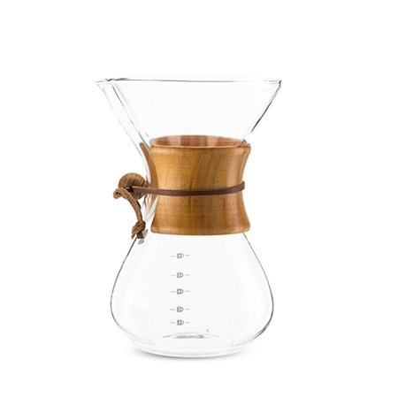 True Finesse Pour Over Glass Coffee Maker with Pine Wood Sleeve $6.15