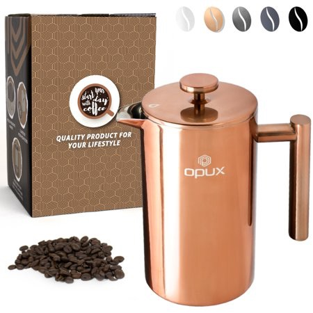 OPUX Premium Insulated Double Wall French Press $23.99-28.99