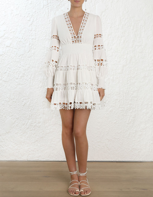 PRIMROSE DAISY SHORT DRESS $795.00