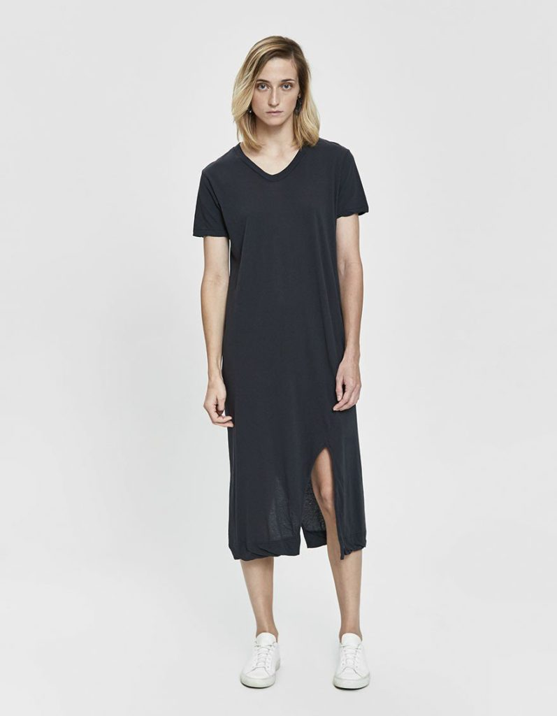 Bassike Vintage V-neck T-Shirt Dress $140