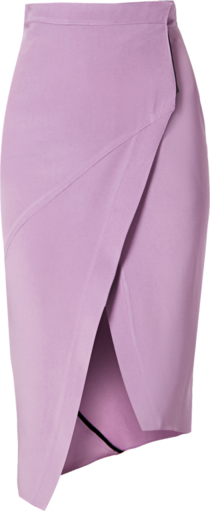 JUAN VIDAL Asymmetric Wrap Skirt $340.00