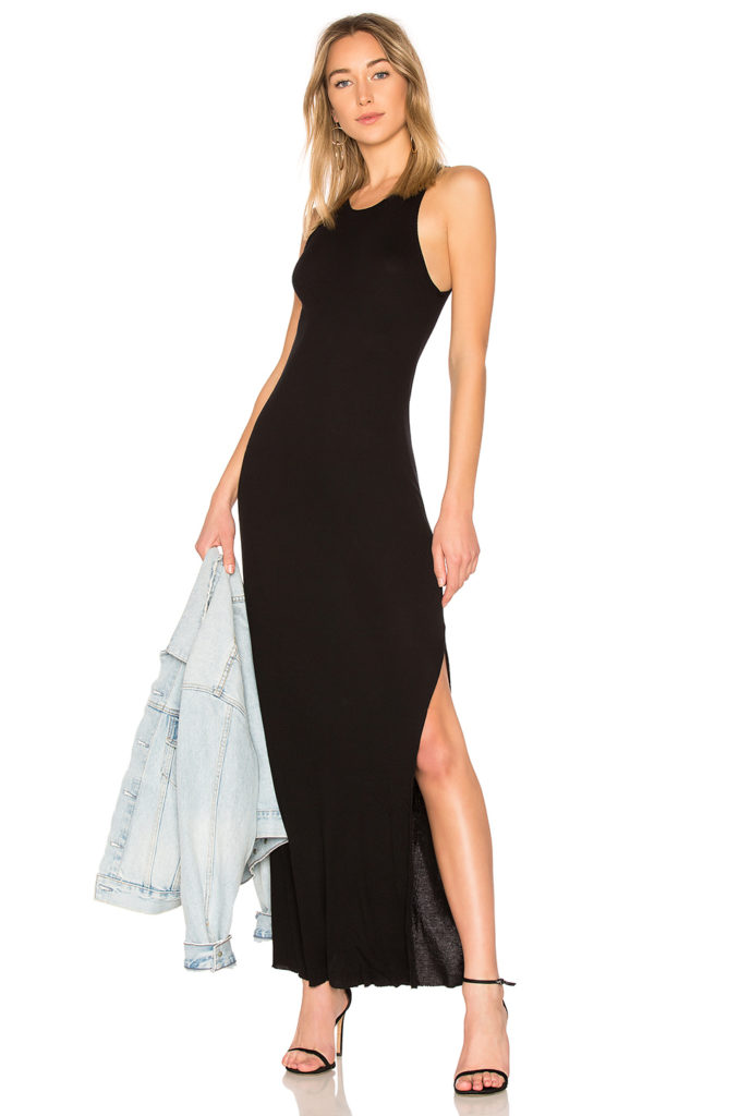 Melbourne Tank Midi Dress With Slit  COTTON CITIZEN  $87