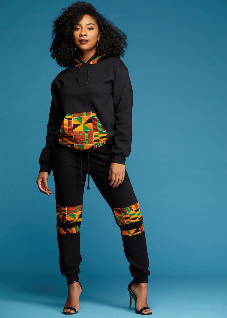 Unisex African Print  joggers $54.99