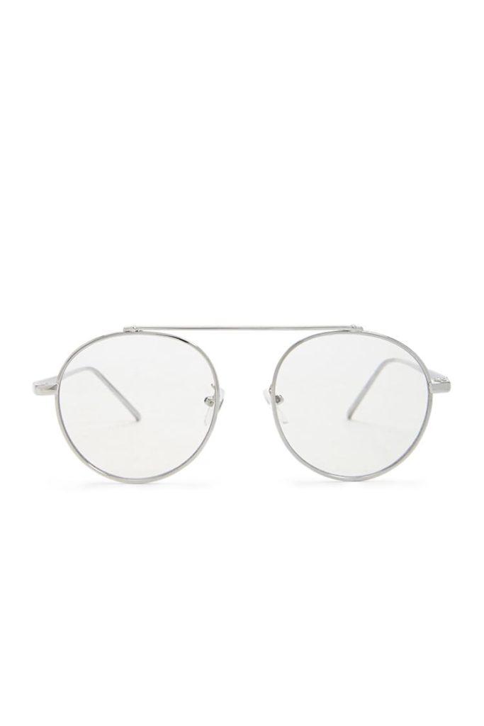 Men Round Metallic Aviator Sunglasses $5.90