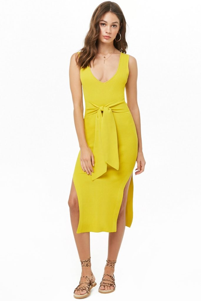 Ribbed Midi Dress $34.90