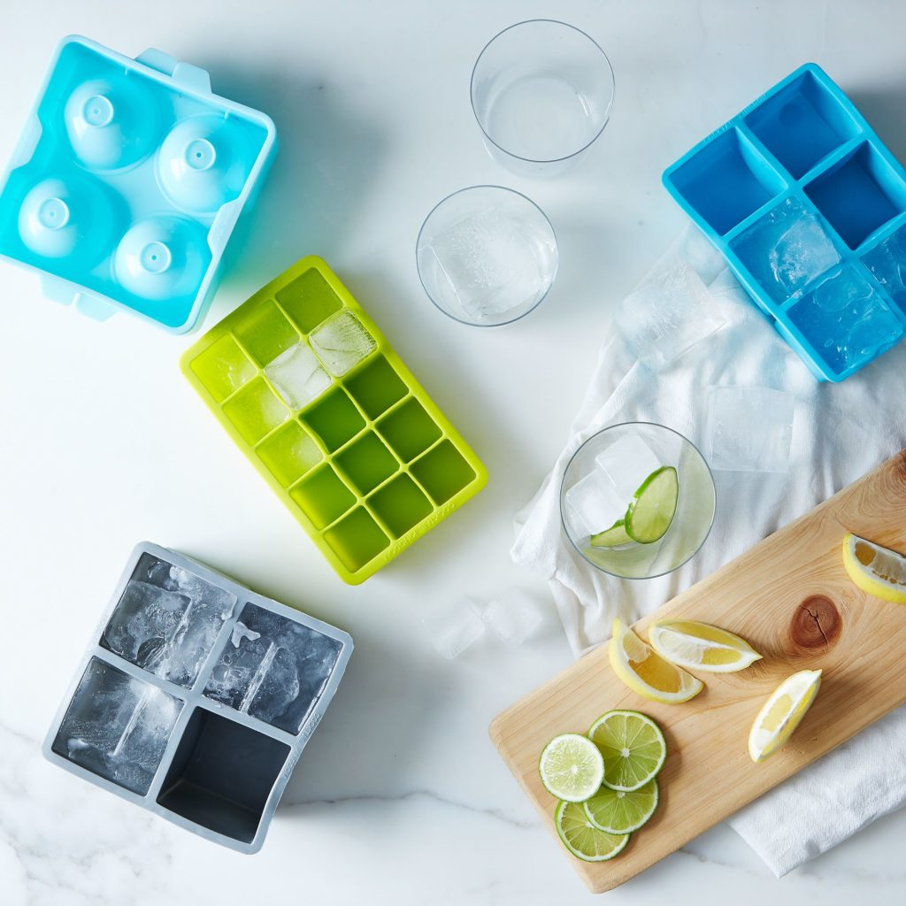 Square and Spherical Ice Tray Sets $18-$30