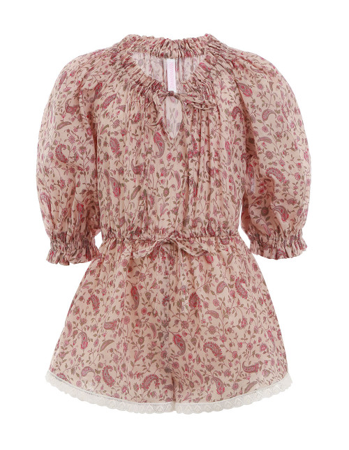 JUNIPER LONG SLEEVE PLAYSUIT $150.00
