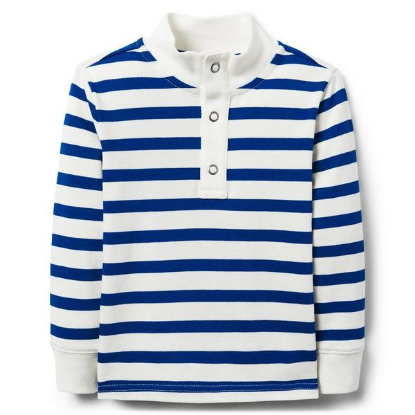 STRIPED PIQUE SHIRT $28.20