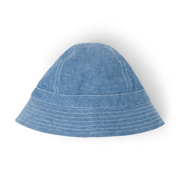 CHAMBRAY BUCKET HAT $17.60