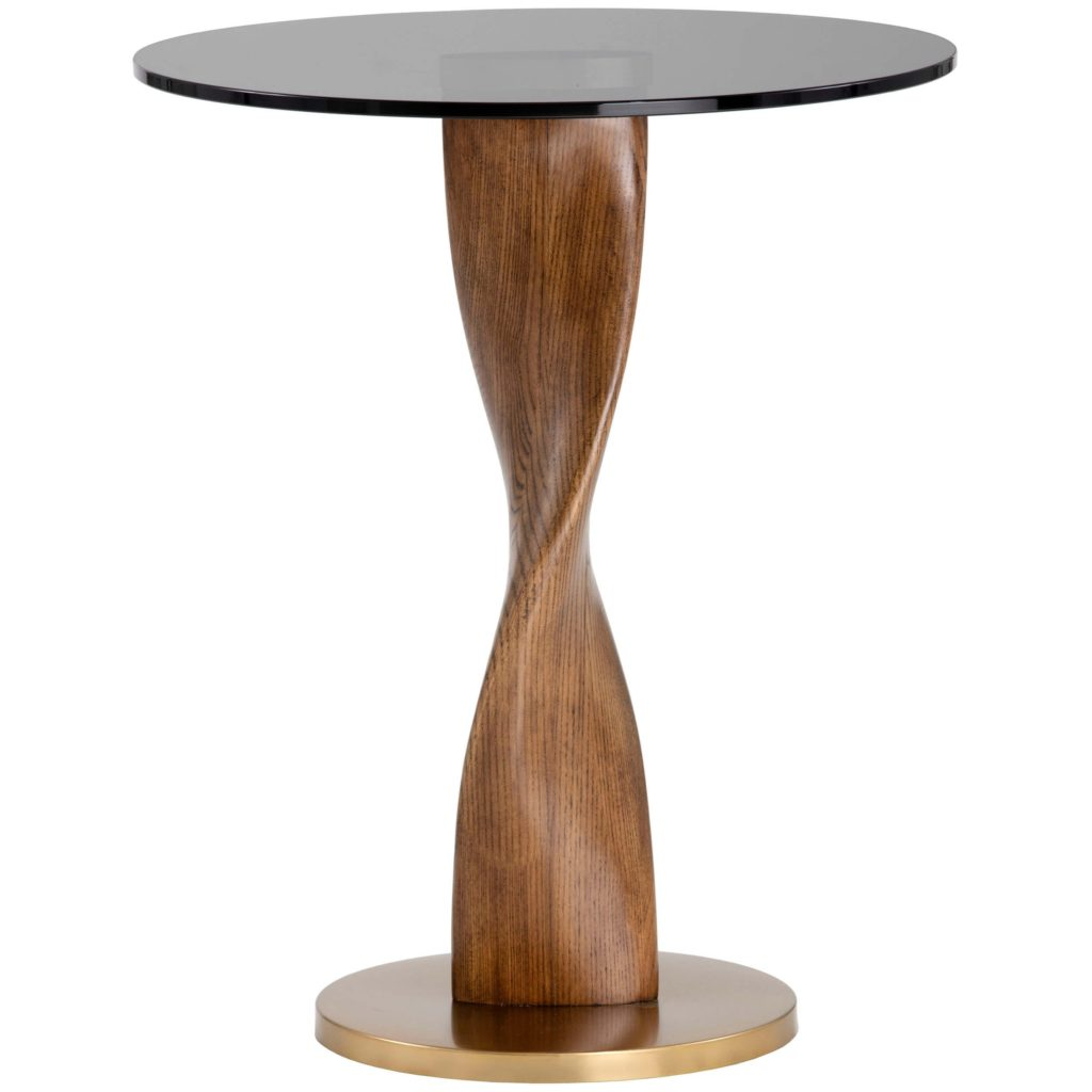 Isla Side Table, Gold $798.00