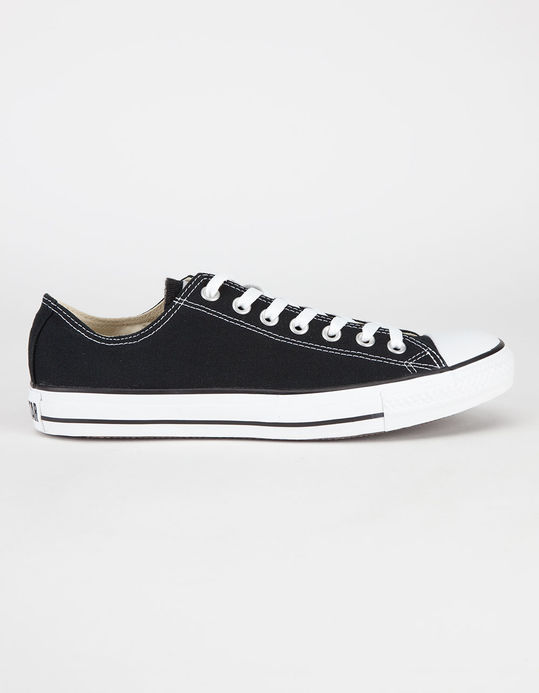 CONVERSE Chuck Taylor All Star Black Low Top Shoes $49.99