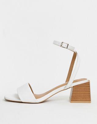 Honeywell block heeled sandals $40.00