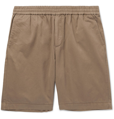 SUNSPEL Slim-Fit Cotton-Twill Shorts $170