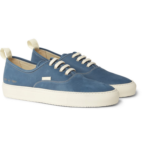 COMMON PROJECTS Tournament Four Hole Nubuck Sneakers $430