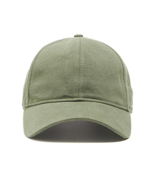 TODD SNYDER + NEW ERA DAD HAT IN OLIVE SELVEDGE CHINO $58.00