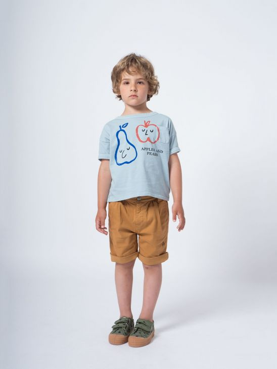 Bobo Choses Blue Apples & Pears T-Shirt $39.00