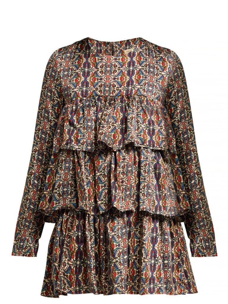 MUZUNGU SISTERS Tiered ruffle blouse $510