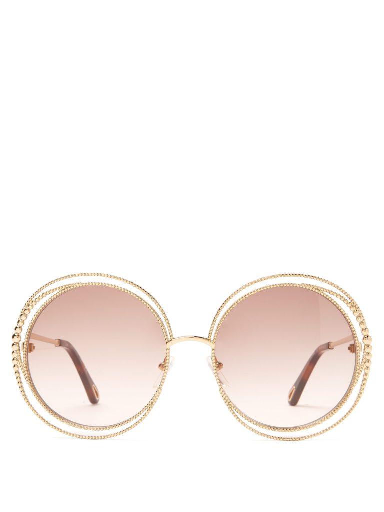 CHLOÉ Carlina round-frame sunglasses $435