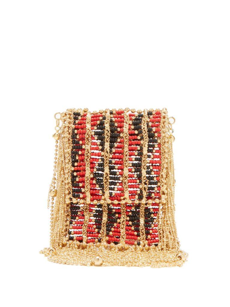 ROSANTICA BY MICHELA PANERO Dakota small beaded cross-body bag $440