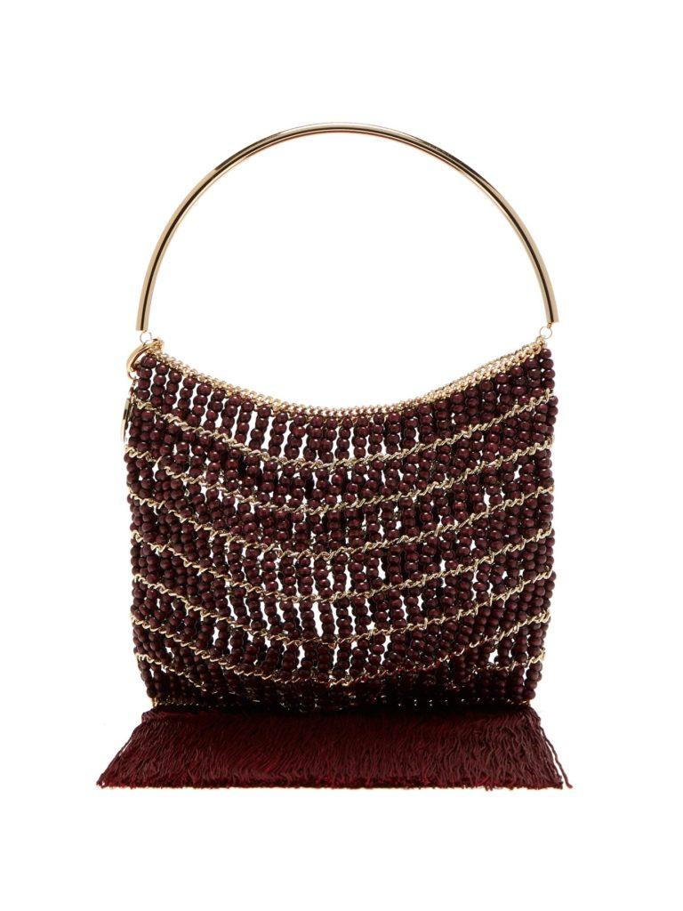 ROSANTICA BY MICHELA PANERO Georgina beaded fringe-trimmed bag $499