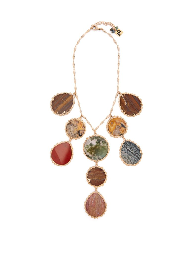 ROSANTICA BY MICHELA PANERO  Wallace agate necklace $649