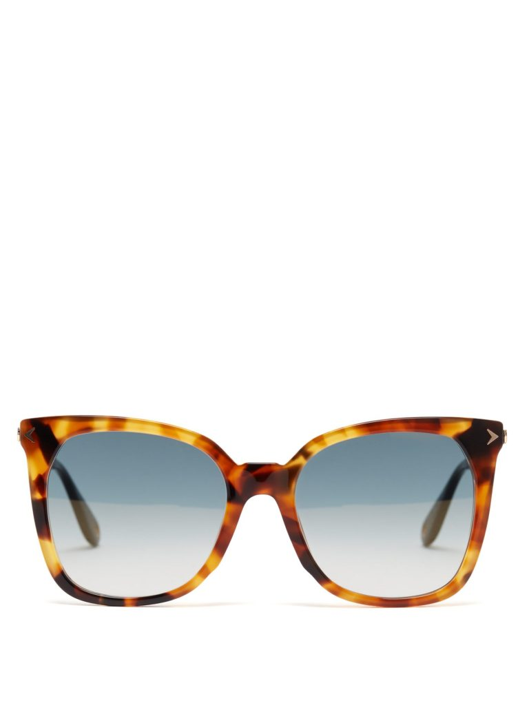 GIVENCHY  Oversized square-frame sunglasses $250