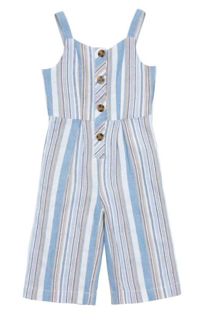 Thea Back Tie Jumpsuit  HABITUAL GIRL Toddler & Little Girl $52.00