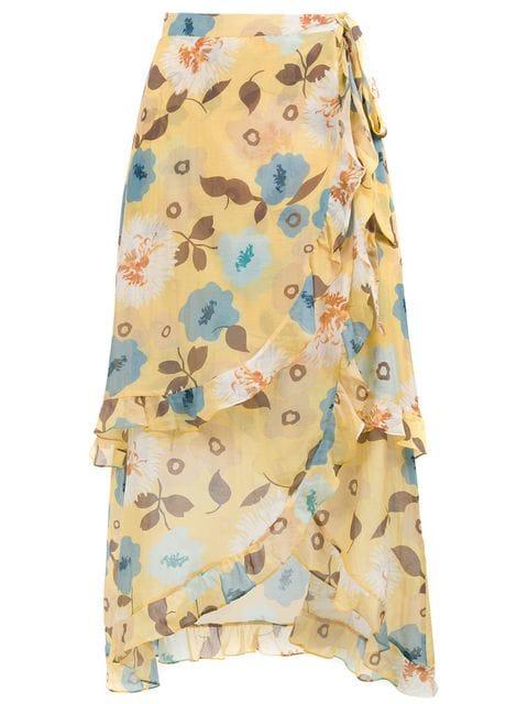CLUBE BOSSA Sania printed skirt $299