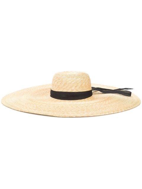 ERMANNO SCERVINO oversized straw hat $257