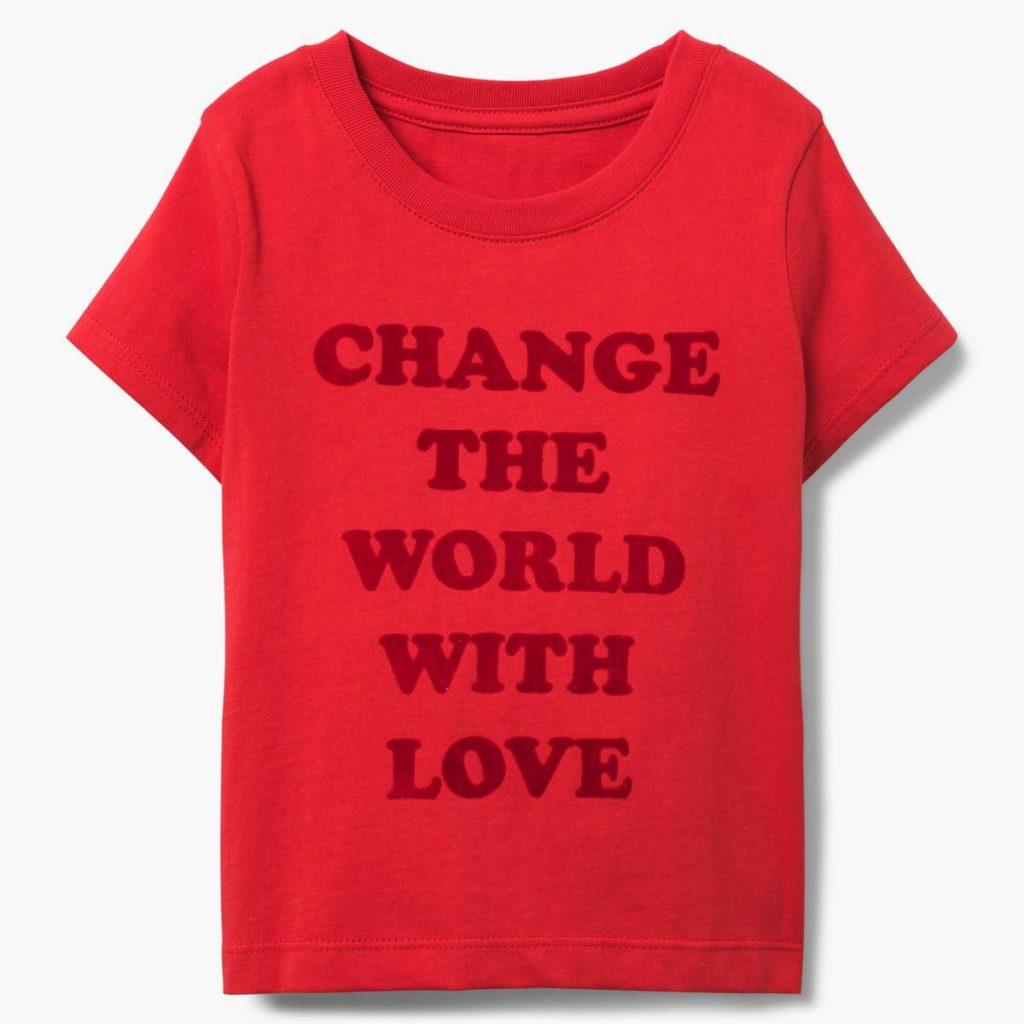 Change With Love Tee $12.60