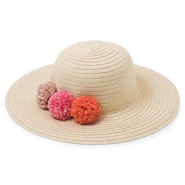 Pom-Pom Sun Hat $13.92