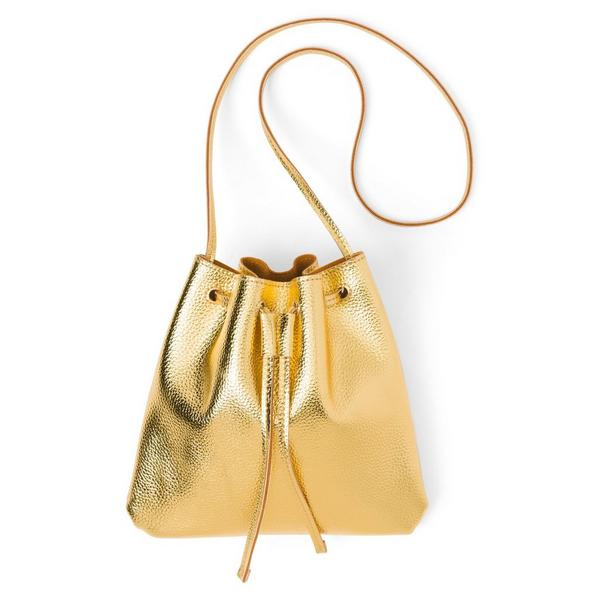 Metallic Bucket Bag $17.42