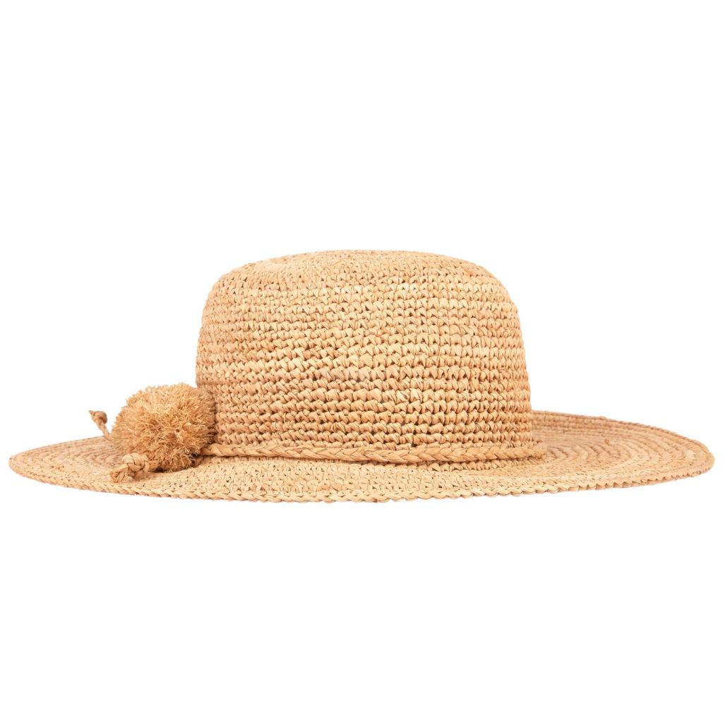 LILI GAUFRETTE Straw hat $61