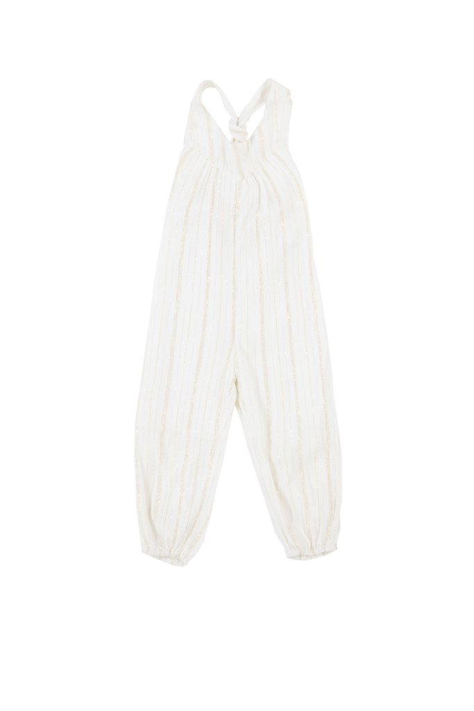 CAROLINA JUMPSUIT - STRIPE LUREX $51.80