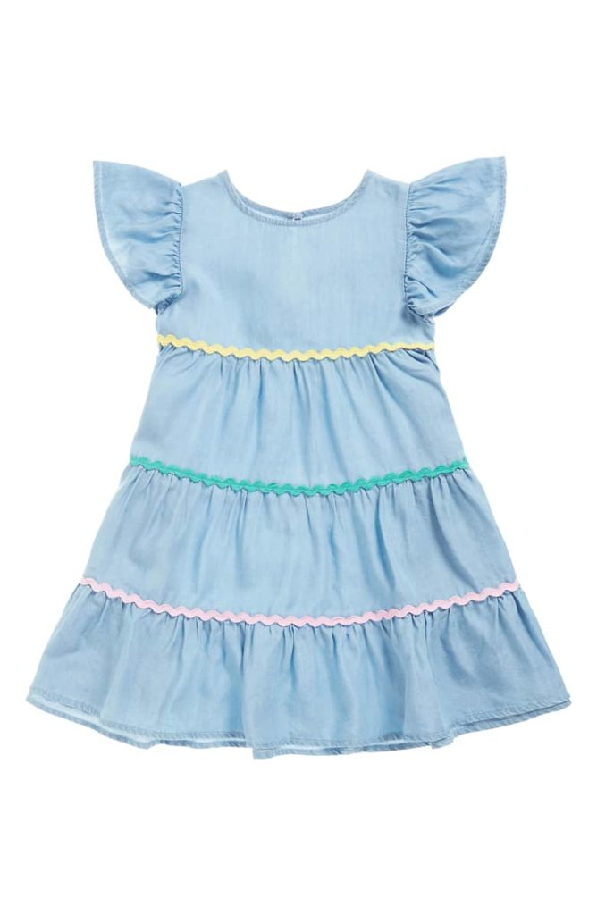 Rickrack Tiered Dress SEED HERITAGE $40.00